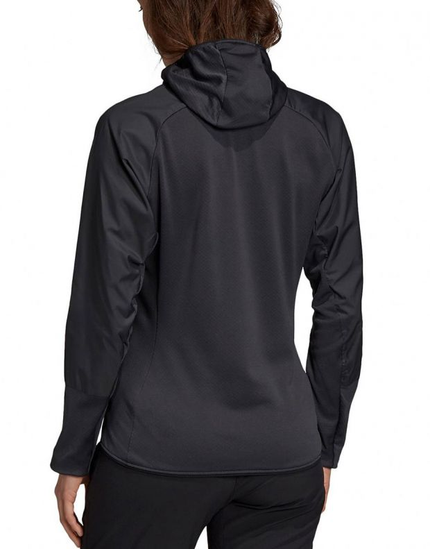 ADIDAS Terrex Skyclimb Fleece Jacket Black - DQ1524 - 2