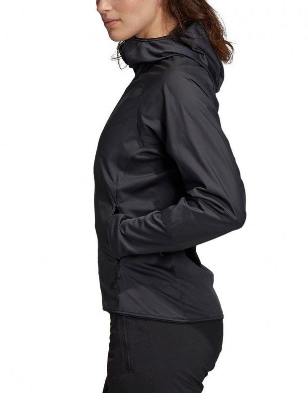 ADIDAS Terrex Skyclimb Fleece Jacket Black - DQ1524 - 3
