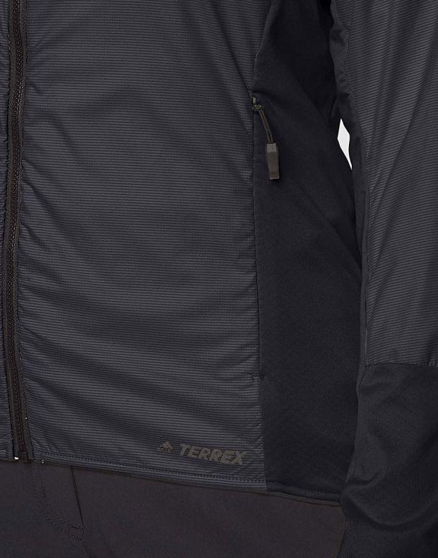 ADIDAS Terrex Skyclimb Fleece Jacket Black - DQ1524 - 4