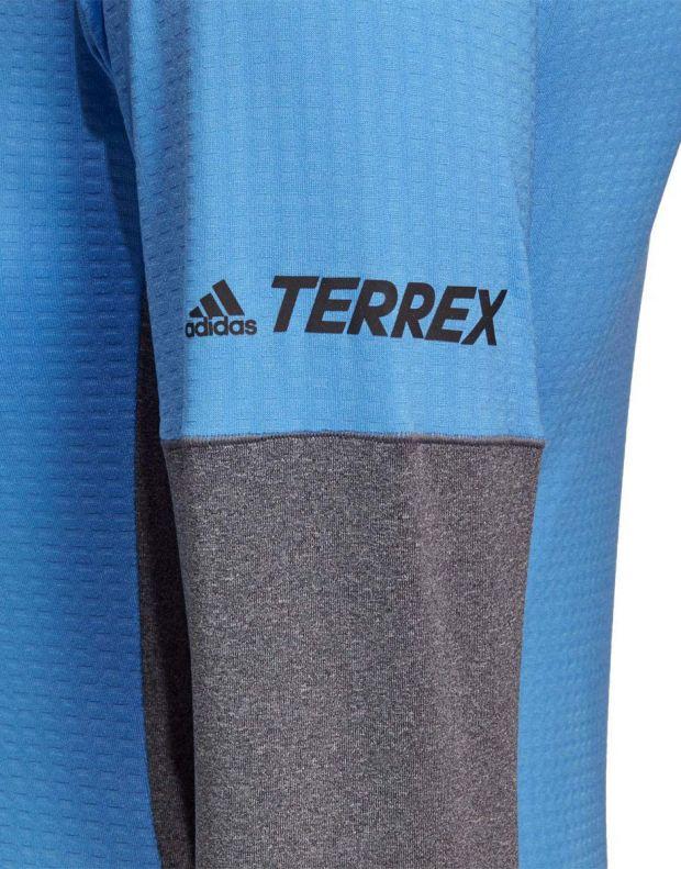ADIDAS Terrex Xperior LS Top Blue - DZ0742 - 6