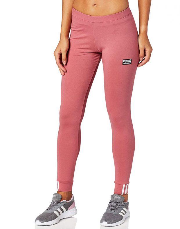 ADIDAS Trace Maroon Leggings Pink - EJ9313 - 1
