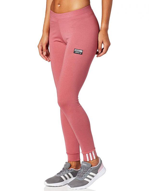 ADIDAS Trace Maroon Leggings Pink - EJ9313 - 3