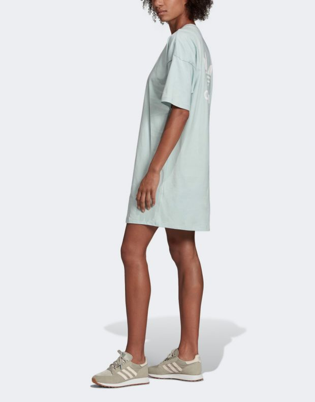 ADIDAS Trefoil Dress Green - ED7580 - 3