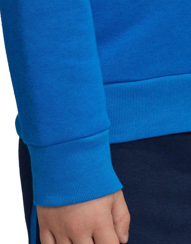 ADIDAS Trefoil Logo Sweatshirt Set Blue - ED7684 - 4