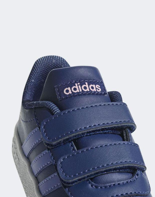 ADIDAS Vl Court 2.0 Blue - B75983 - 7