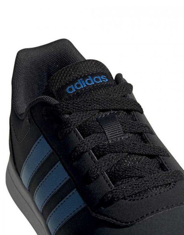 ADIDAS Vs Switch 2 K Black Blue - G25921 - 7