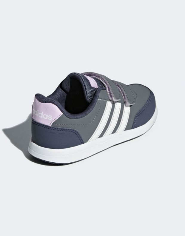 ADIDAS Vs Switch 2 Sneakers Grey - B76054 - 4