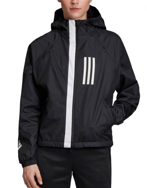 ADIDAS W.N.D Jacket Black - FH6664 - 1