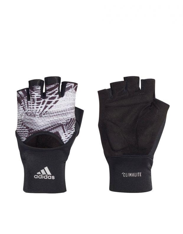 ADIDAS Womens Training Climalite Gloves Black - EA1650 - 1