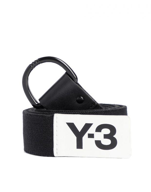 ADIDAS Y-3 Yohji Yamamoto Elastic Belt Black - DZ0803 - 1