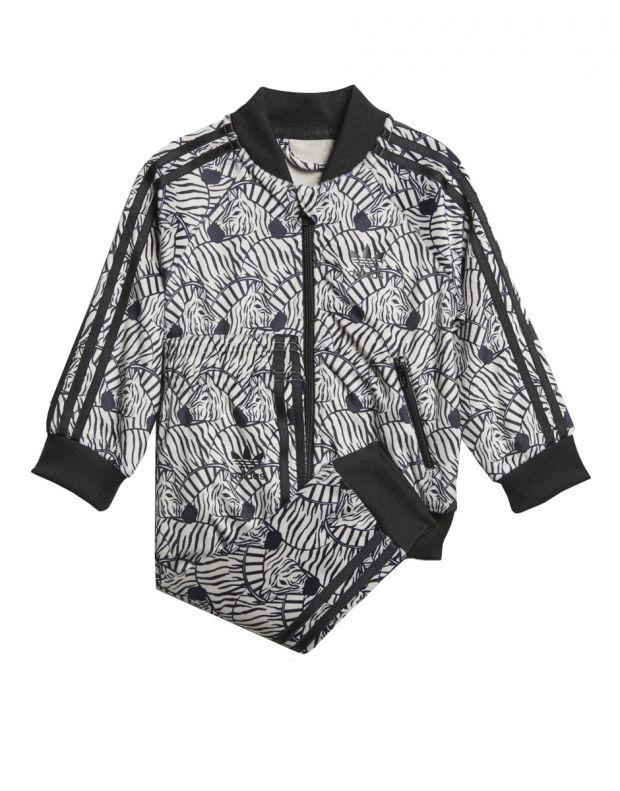 ADIDAS Zebra Track Suit Grey - 1