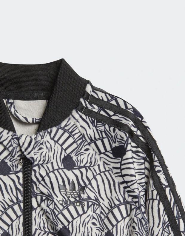 ADIDAS Zebra Track Suit Grey - 6