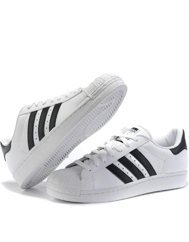 ADIDAS Superstar II White/Black - 3