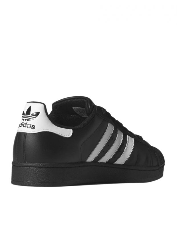 ADIDAS Superstar II Black/White - 4
