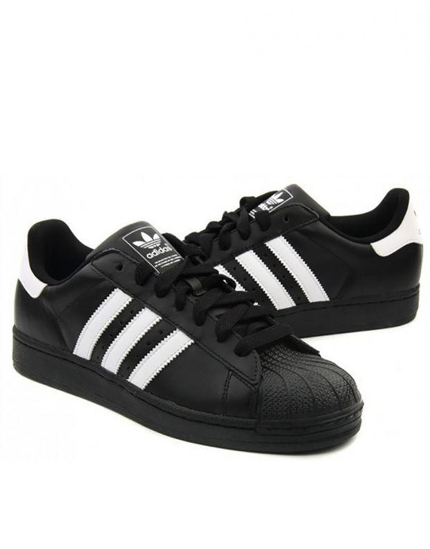 ADIDAS Superstar II Black/White - 3