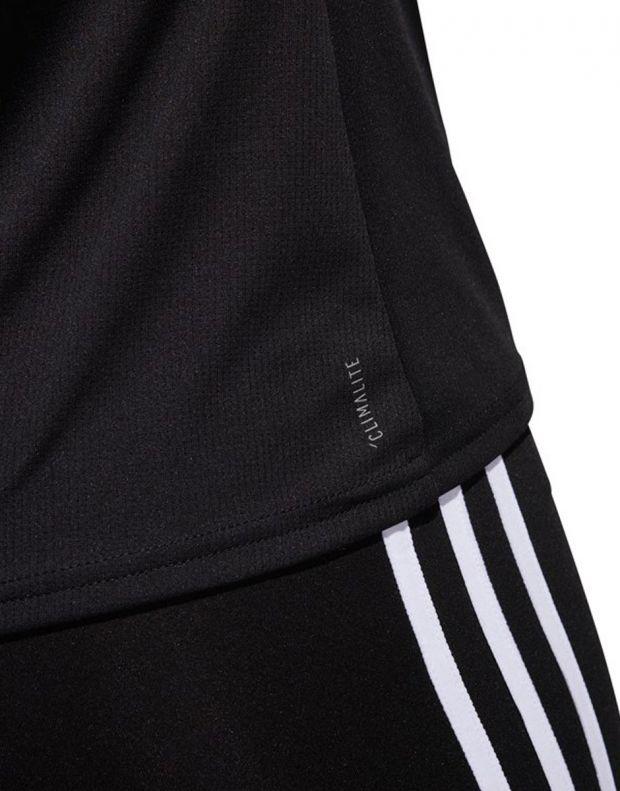 ADIDAS Running 3-Stripes Tee Black - CZ7569 - 3