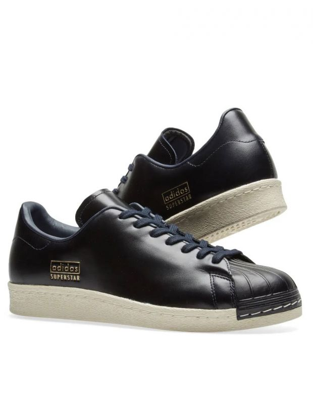 ADIDAS Superstar 80s Clean Black - CQ2171 - 6