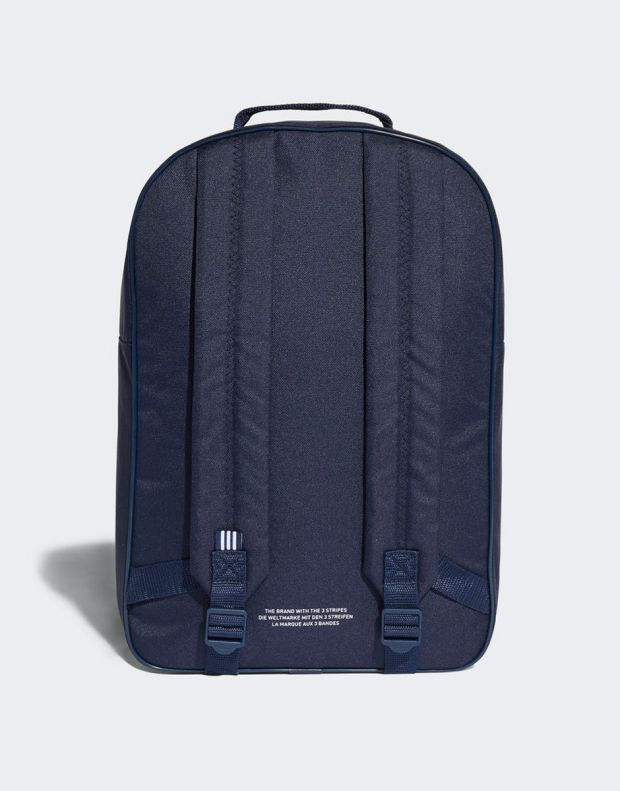 ADIDAS Trefoil Classic Backpack Navy - DJ2171 - 2