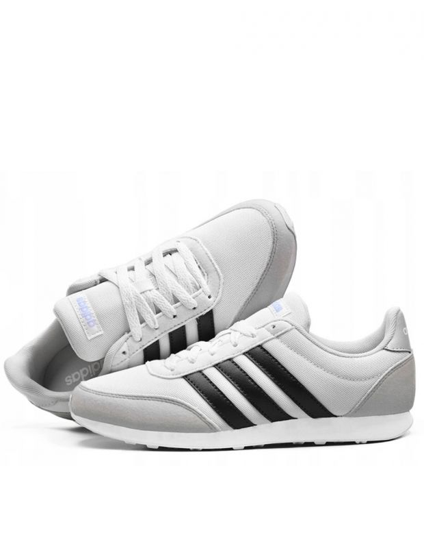 ADIDAS V Racer Sneakers White - 4