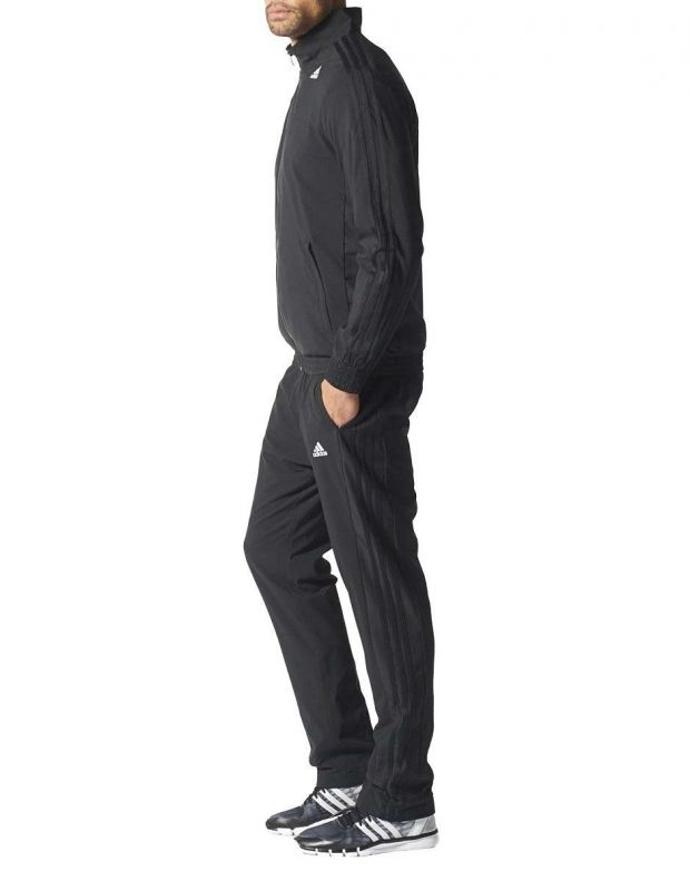ADIDAS Woven Tracksuit Essential Climalite Black  - 2