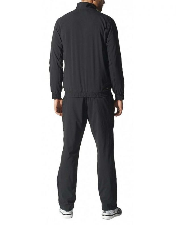 ADIDAS Woven Tracksuit Essential Climalite Black  - 3
