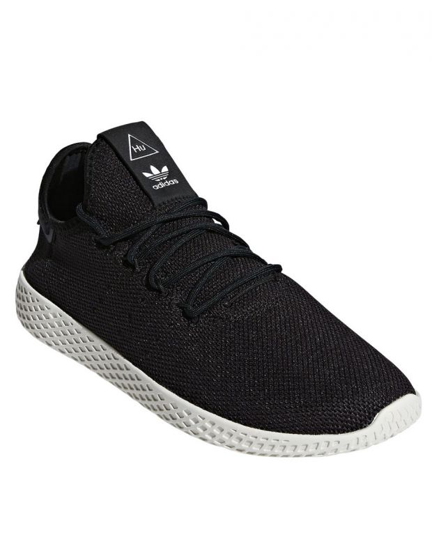 ADIDAS x Pharrell Williams Tennis Hu Black - AQ1056 - 2