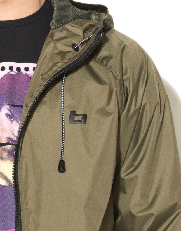 BLEND Basic Hooded Jacket Green - 3