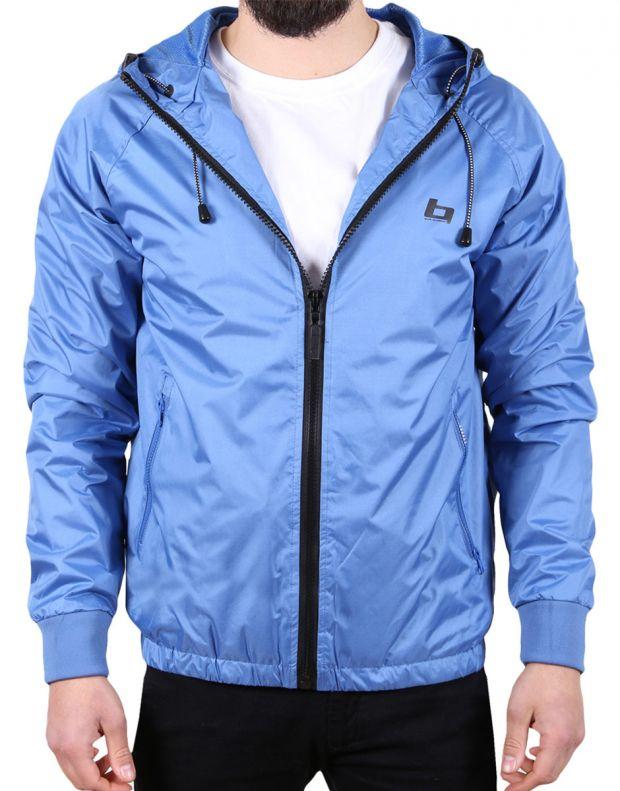 BLEND Basic Hooded Jacket Blue - 1