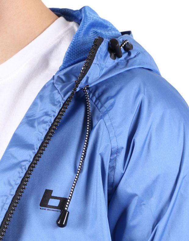 BLEND Basic Hooded Jacket Blue - 3