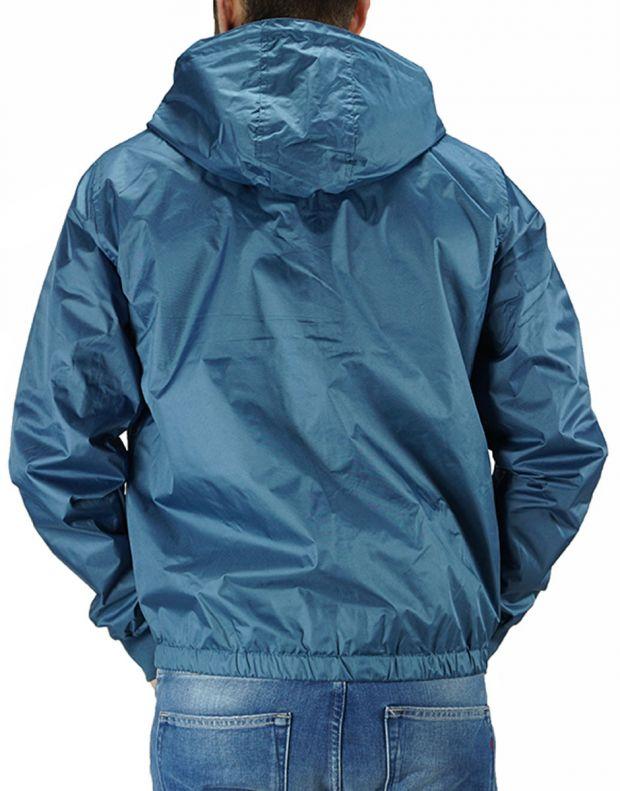 BLEND Basic Logo Patch Jacket Blue - 2