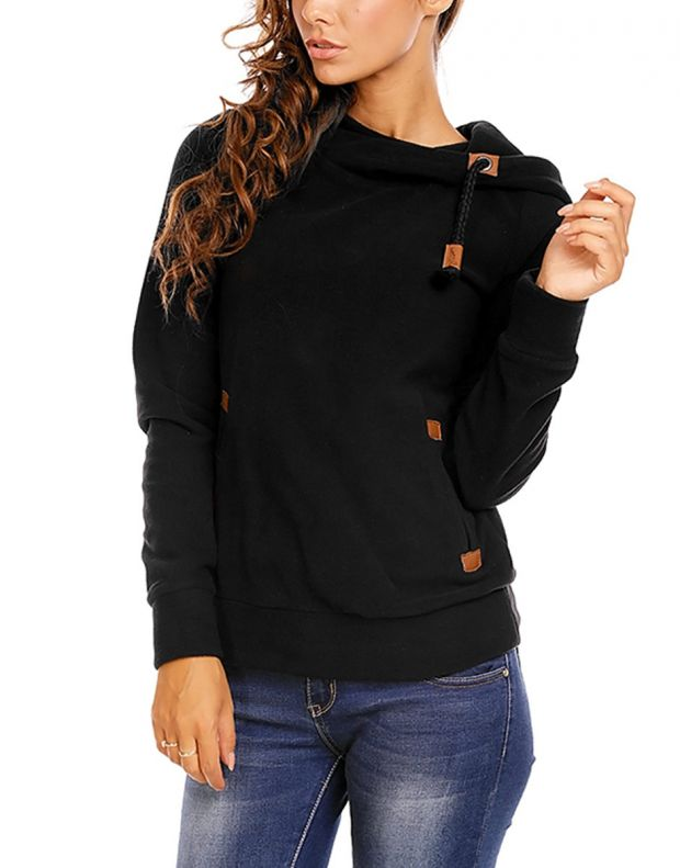 SUBLEVEL Bella Sweatshirt Black - 3