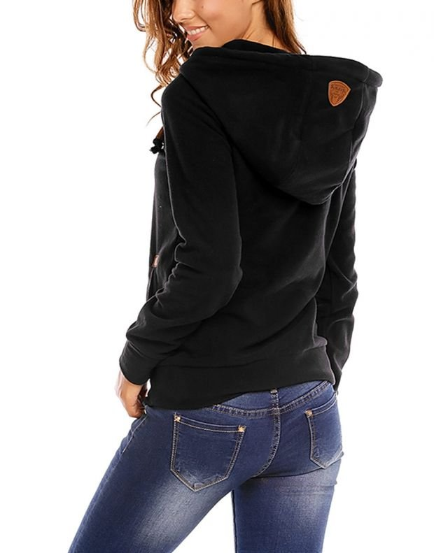 SUBLEVEL Bella Sweatshirt Black - 2