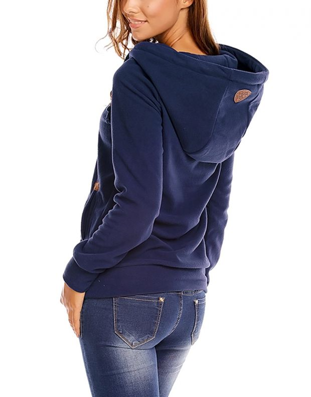SUBLEVEL Bella Sweatshirt Blue - 2