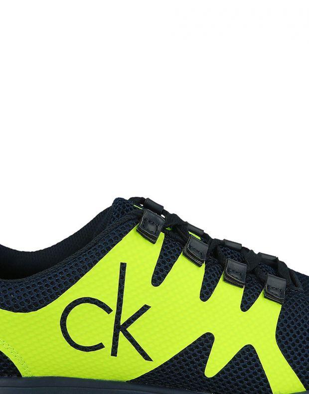 CALVIN KLEIN Murphy Shoes Navy - 7