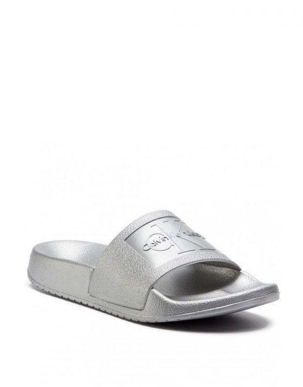 CALVIN KLEIN Christie Flip Flop Silver - RE9854041 - 3