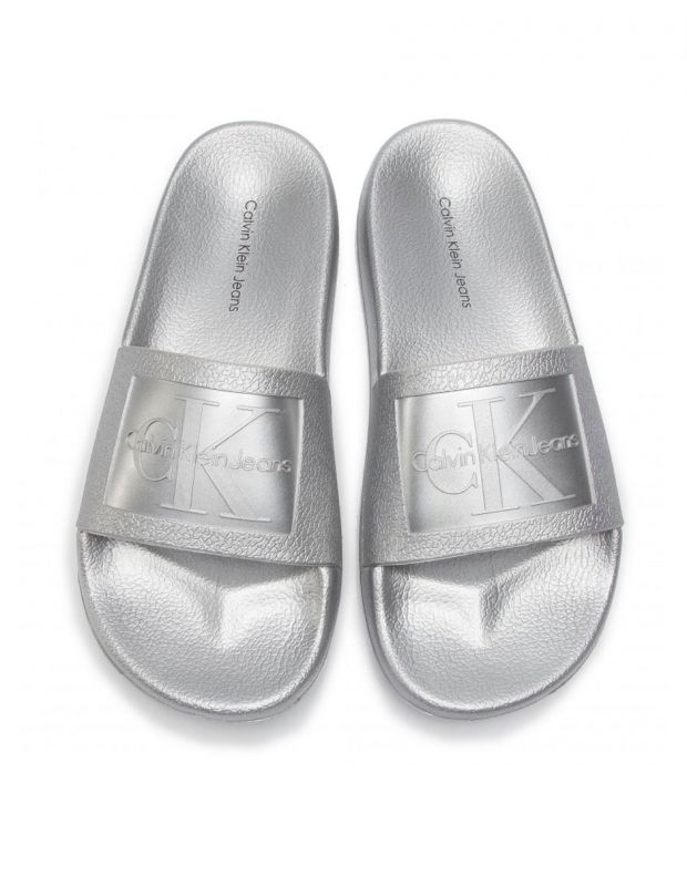 CALVIN KLEIN Christie Flip Flop Silver - RE9854041 - 5