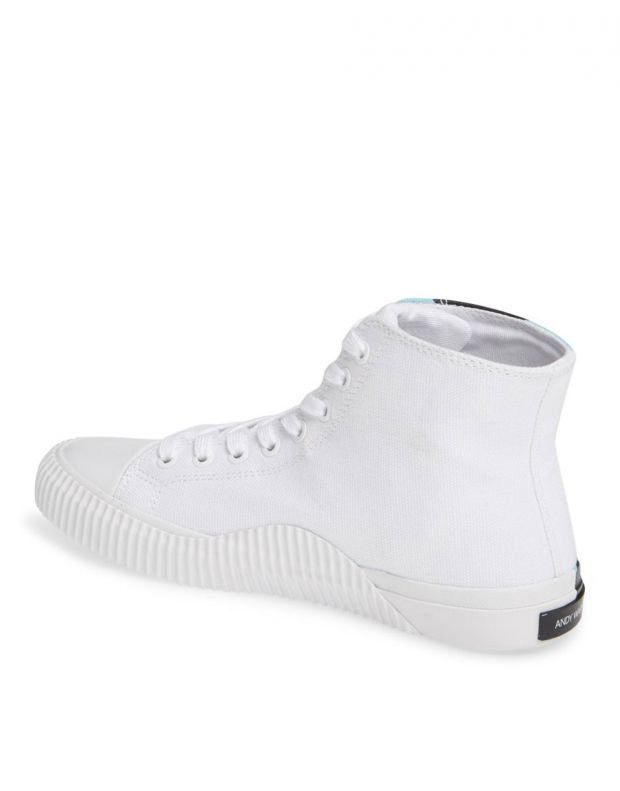 CALVIN KLEIN Andy Warhol Iconica Shoes White - R4136100 - 5