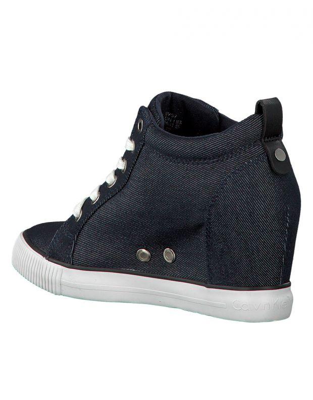 CALVIN KLEIN Ritzy Denim Sneakers Indigo - R8957001 - 4