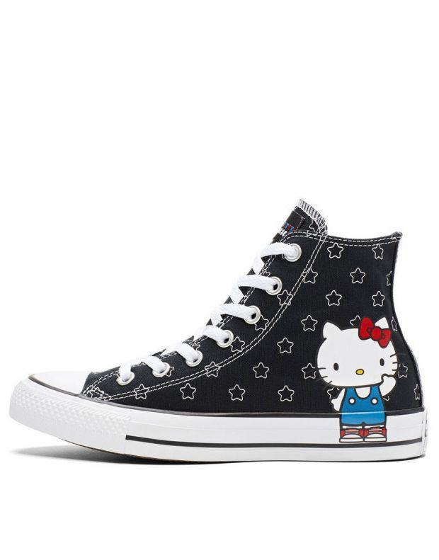 CONVERSE x Hello Kitty Chuck Taylor All Star Hi Black - 163919F - 1