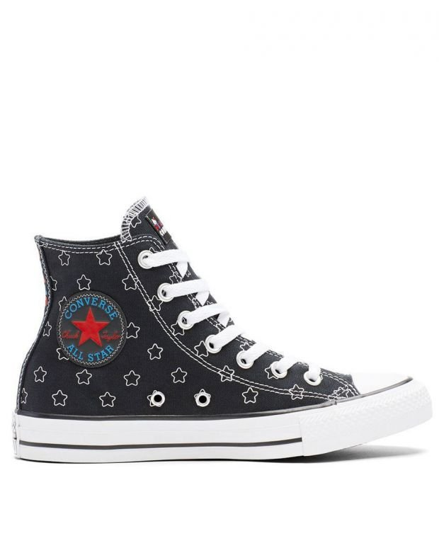 CONVERSE x Hello Kitty Chuck Taylor All Star Hi Black - 163919F - 2