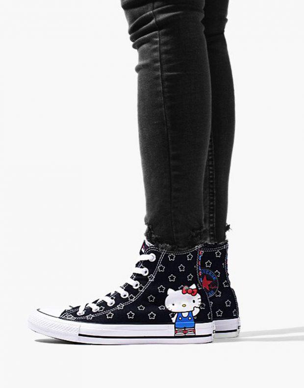 CONVERSE x Hello Kitty Chuck Taylor All Star Hi Black - 163919F - 8