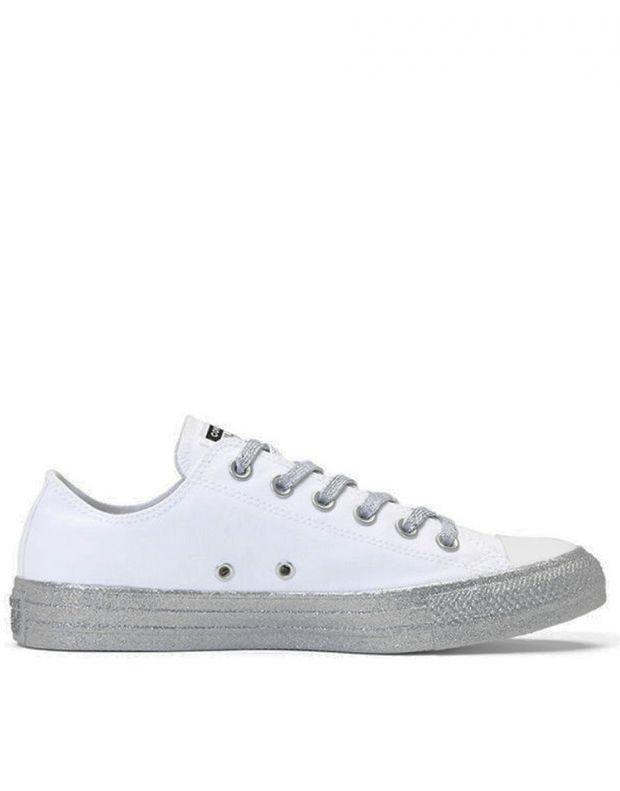 CONVERSE x Miley Cyrus Chuck Taylor All Star Low White/Grey - 162238C - 2