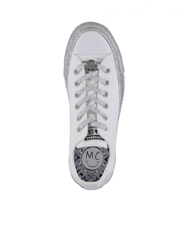 CONVERSE x Miley Cyrus Chuck Taylor All Star Low White/Grey - 162238C - 5