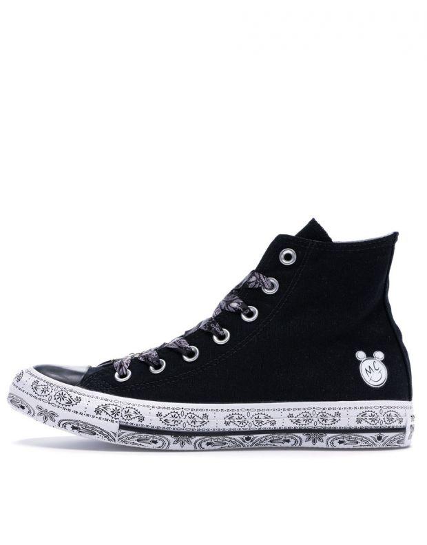 CONVERSE x Miley Cyrus Chuck Taylor All Star Hi Black - 162234C - 1