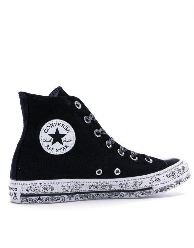 CONVERSE x Miley Cyrus Chuck Taylor All Star Hi Black - 162234C - 2