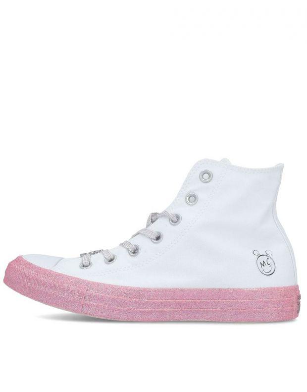CONVERSE x Miley Cyrus Chuck Taylor All Star Hi White - 162239C - 1
