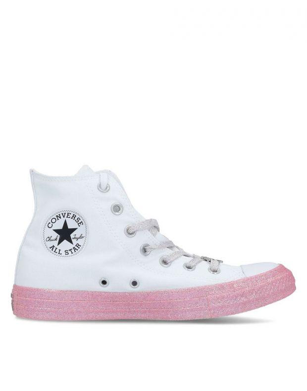 CONVERSE x Miley Cyrus Chuck Taylor All Star Hi White - 162239C - 2