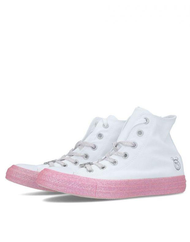 CONVERSE x Miley Cyrus Chuck Taylor All Star Hi White - 162239C - 3