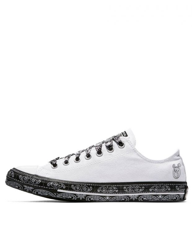 CONVERSE x Miley Cyrus Chuck Taylor All Star Low White/Black - 162235C - 1