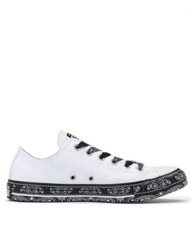 CONVERSE x Miley Cyrus Chuck Taylor All Star Low White/Black - 162235C - 2